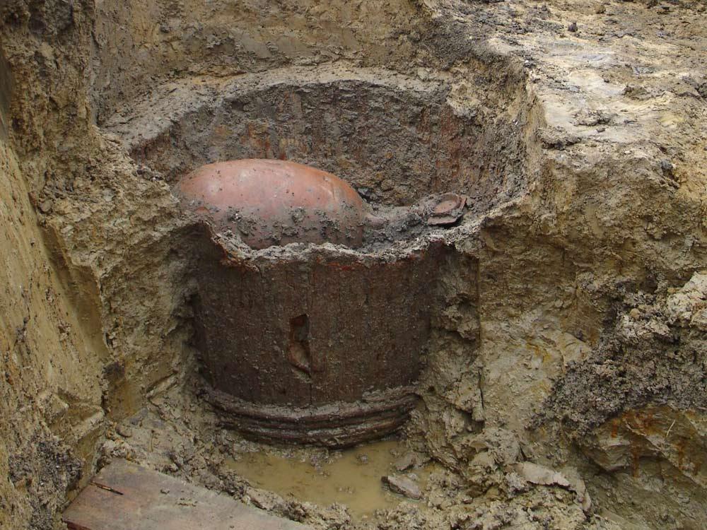 Najdišče: Vrhnika, Kočevarjev vrt, 2006, foto: arhiv Inštitut za arheologijo ZRC SAZU, foto: E. Lozić