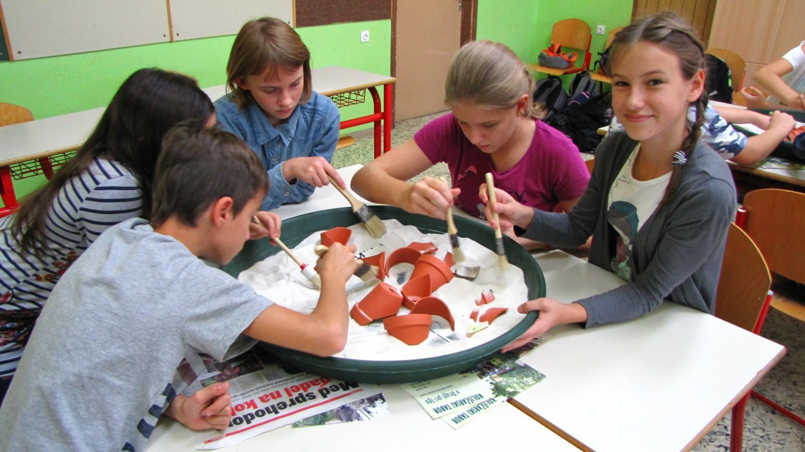 arheologija, raziskave, izkopavanja